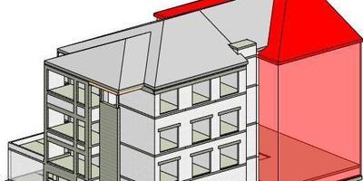 Coffrage 3D-maison de repos-de
