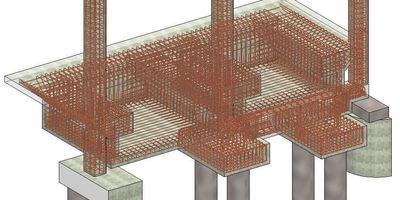 Quais de chargement - représentation du ferraillage 3D - étude approfondie des collisions pour barres en acier.-de